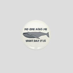 Sad Hump Day Humpback Mini Button