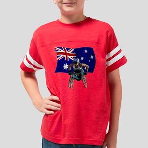 Madi on Flag Youth Football Shirt
