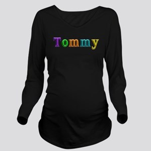 Tommy Shiny Colors Long Sleeve Maternity T-Shirt