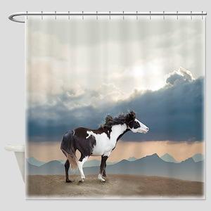 Aspen Verse Ziggy Shower Curtain