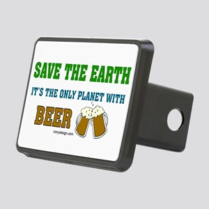 Save The Beer Rectangular Hitch Cover