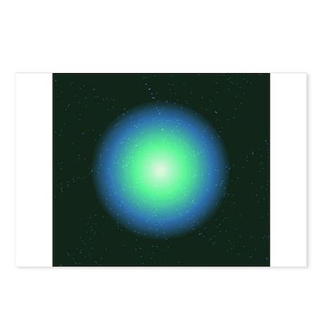 Blue Supernova Postcards (Package of 8)