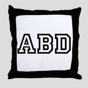 ABD Throw Pillow