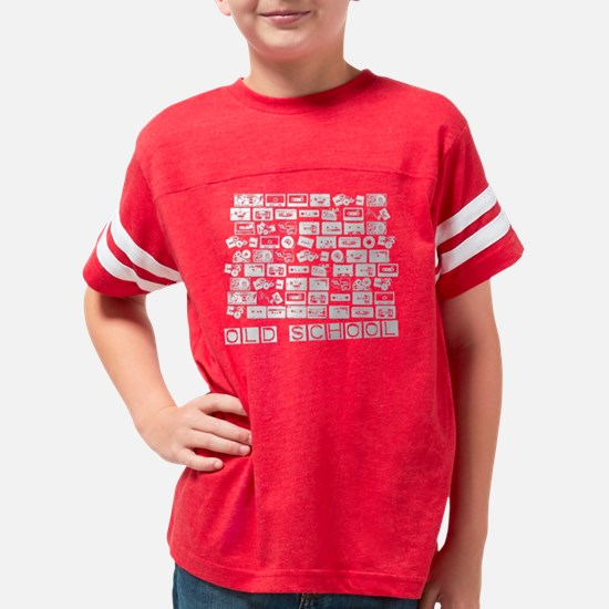 Wayback Playback- Vintage T-s Youth Football Shirt