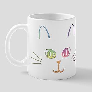 Rainbow Kitty Mug