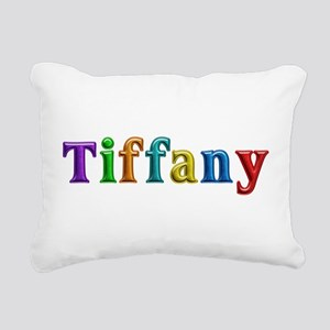 Tiffany Shiny Colors Rectangular Canvas Pillow