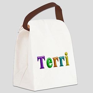 Terri Shiny Colors Canvas Lunch Bag