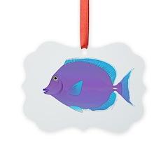 Blue tang Surgeonfish Ornament