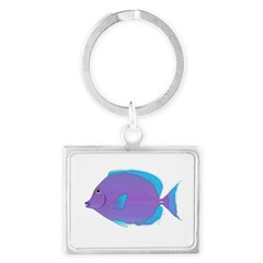 Blue tang Surgeonfish Keychains