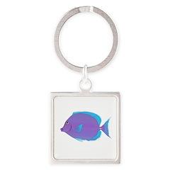 Blue tang Surgeonfish Keychains