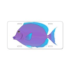 Blue tang Surgeonfish Aluminum License Plate