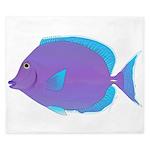 Blue tang Surgeonfish King Duvet