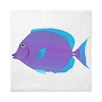 Blue tang Surgeonfish Queen Duvet