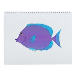 Reef fish 3 Wall Calendar