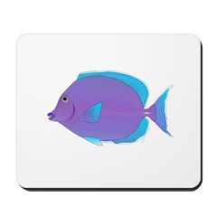 Blue tang Surgeonfish Mousepad