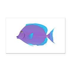 Blue tang Surgeonfish Rectangle Car Magnet