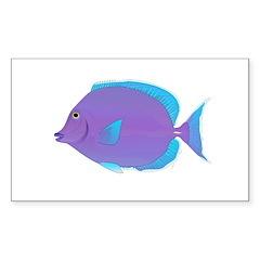 Blue tang Surgeonfish Decal