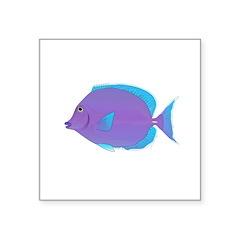 Blue tang Surgeonfish Sticker
