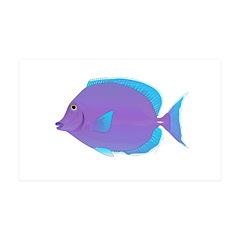 Blue tang Surgeonfish Wall Decal