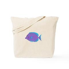 Blue tang Surgeonfish Tote Bag