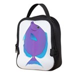 Blue tang Surgeonfish Neoprene Lunch Bag