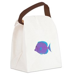 Blue tang Surgeonfish Canvas Lunch Bag