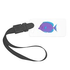 Blue tang Surgeonfish Luggage Tag