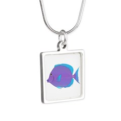 Blue tang Surgeonfish Necklaces