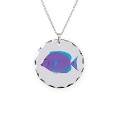 Blue tang Surgeonfish Necklace