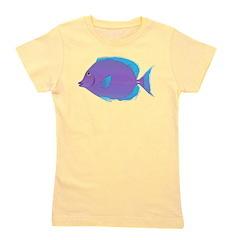 Blue Tang Surgeonfish c Girl's Tee