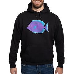 Blue Tang Surgeonfish c Hoodie