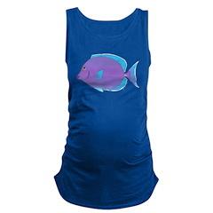 Blue Tang Surgeonfish c Maternity Tank Top