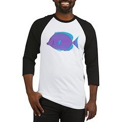 Blue Tang Surgeonfish c Baseball Jersey