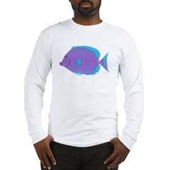 Blue Tang Surgeonfish c Long Sleeve T-Shirt