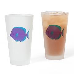 Blue Tang Surgeonfish c Drinking Glass