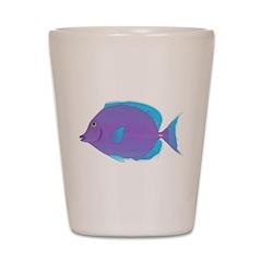 Blue Tang Surgeonfish c Shot Glass