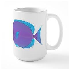 Blue Tang Surgeonfish c Mugs