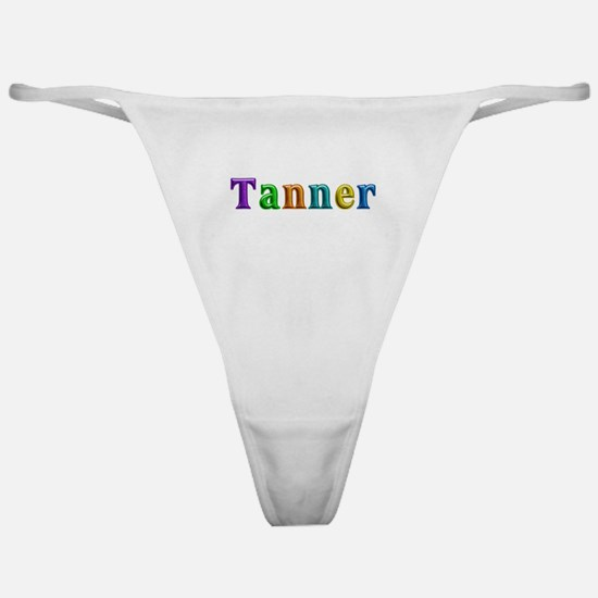 Tanner Shiny Colors Classic Thong