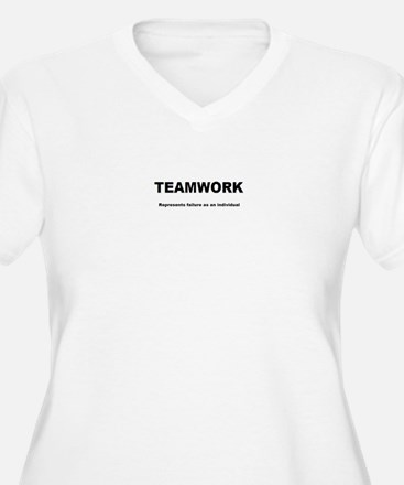 TEAMWORK Plus Size T-Shirt