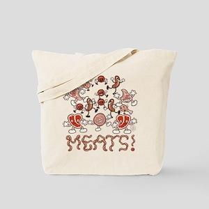 MEATS! Tote Bag