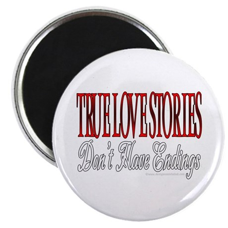 "True Love 2.25"" Magnet (10 pack)"