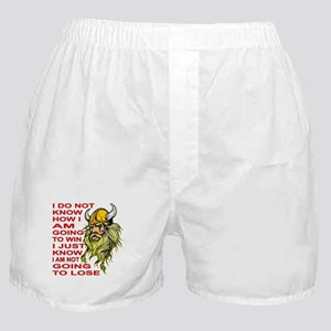 I Am NOT Going To Lose Boxer Shorts