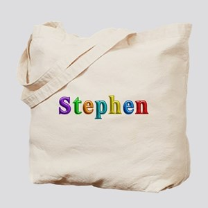 Stephen Shiny Colors Tote Bag