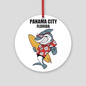 Panama City, Florida Ornament (Round)