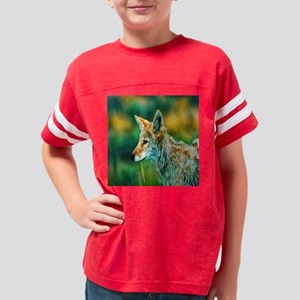 desert coyote Youth Football Shirt