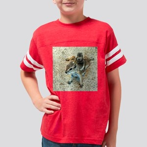 ground squirrel Youth Football Shirt