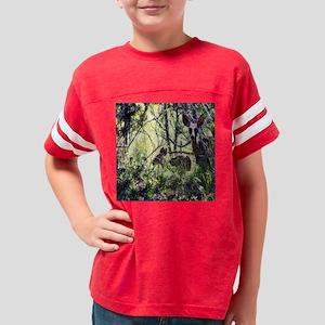 mule deer doe Youth Football Shirt