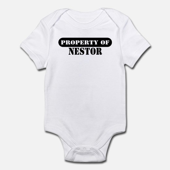 Property of Nestor Infant Bodysuit