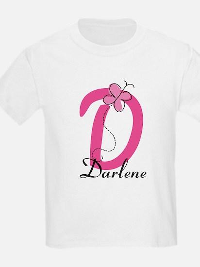 Letter D Monogram Personalized T-Shirt