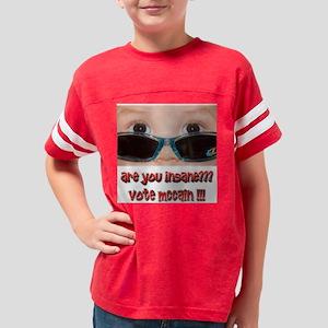McCain Youth Football Shirt